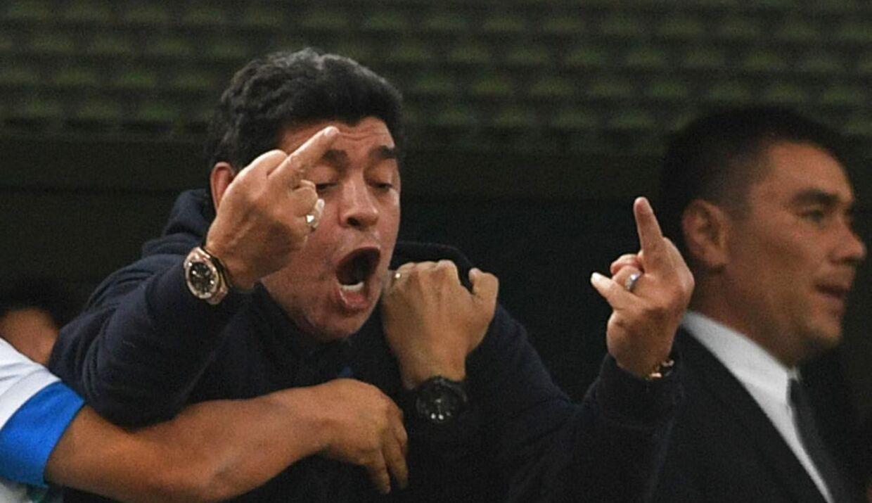 Fodboldlegenden Diego Maradona