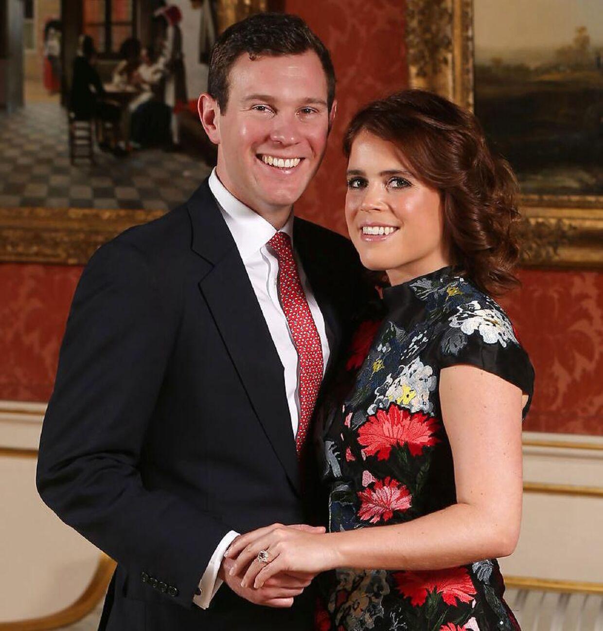 Til efteråret skal prinsesse Eugenie giftes med sin kæreste Jack Brooksbank.