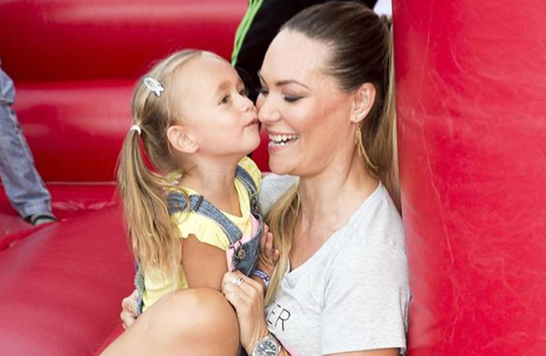 Mascha og hendes datter.