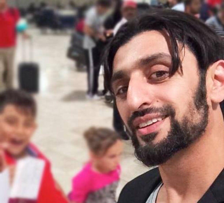 Amir Hussain blev overrasket, da kassemedarbejderen i Netto tilbød at betale for hans varer.
