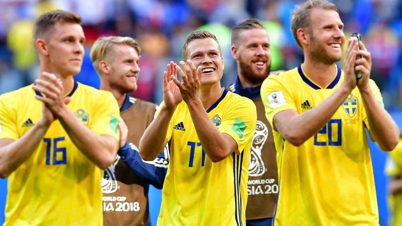 Det svenske landshold er videre til kvartfinalerne.