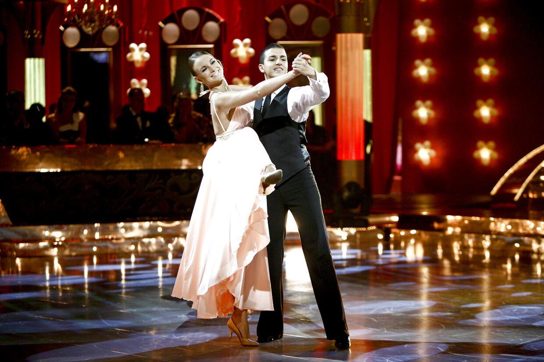 Sådan så det ud, da Claudia Rex sammen med Basim havde sin debut i programmet i 2009.