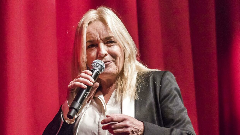 Anne Linnet fik tidligere på året prisen Årets Steppeulv. Her ses hun ved uddelingen.