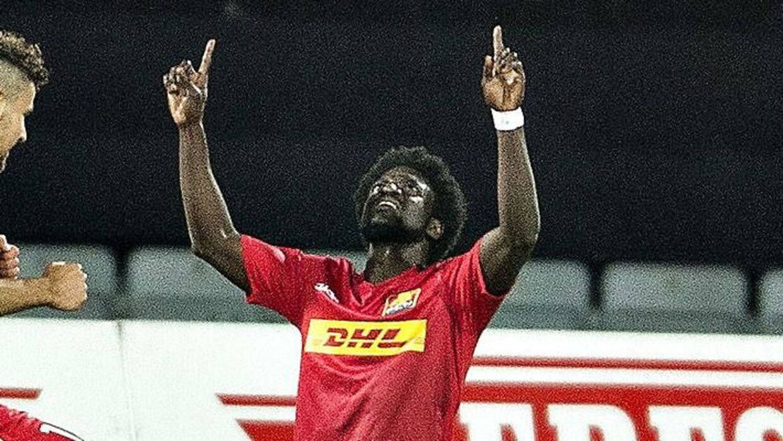 Ernest Asante er færdig i Superligaen.