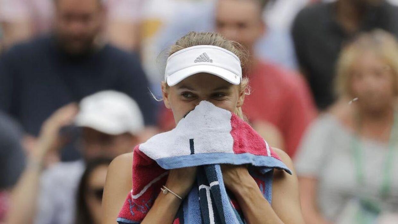 Caroline Wozniacki tabte i tre sæt til Ekatarina Makarova.