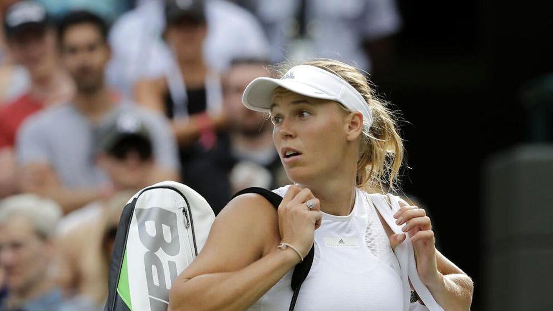 Caroline Wozniacki må endnu engang kigge langt efter Wimbledon-succes.