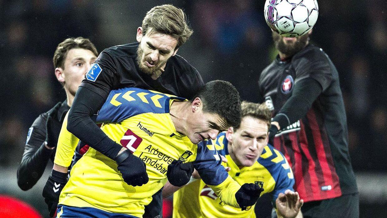 Sidste sæson var det FC Midtjylland og Brøndby, der kæmpede om guldet.