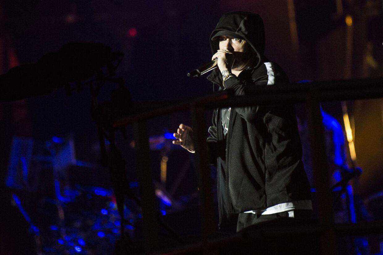 Eminem slutter Orange Scene af på Roskilde Festival onsdag den 4. juli 2018.