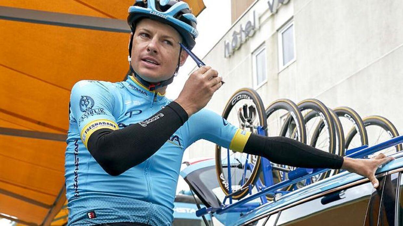 Jakob Fuglsang skal som minimum ende på Tour-podiet, lyder det fra chefen (Foto: Claus Bonnerup/Ritzau Scanpix)