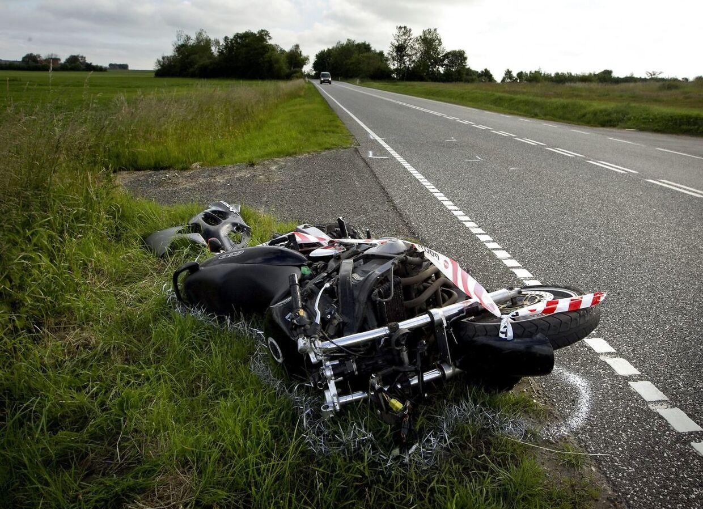 10 motorcyklisterer er dræbt i trafikken i det første halvår af 2018 (Foto: Morten Stricker/Scanpix 2018)