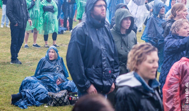 Styrtregn prægede Hede Rytmer, da festivalen ramte randers.