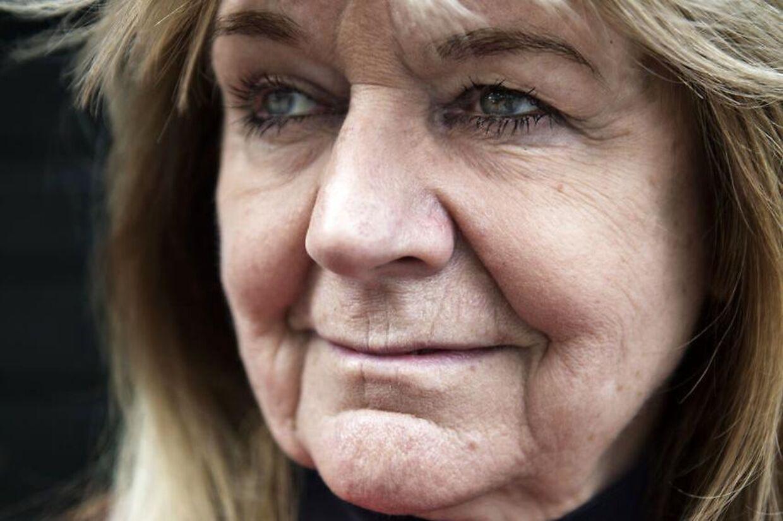 Portræt af journalist og udenrigskorrespondent Ulla Terkelsen.