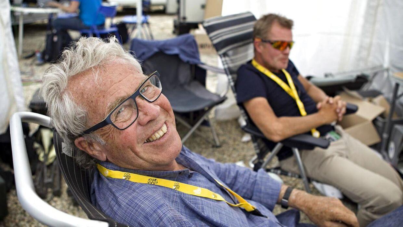 Jørgen Leth og Rolf Sørensen vil ikke sidde sammen under kommenteringen af Tour de France.