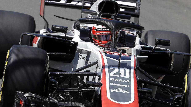 Kevin Magnussen jagter mere succes på Silverstone.