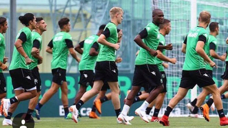 Jens Odgaard er begyndt i sin nye klub, Sassuolo.