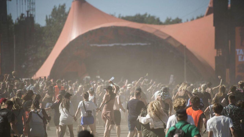 Orangescene på Roskilde Festival