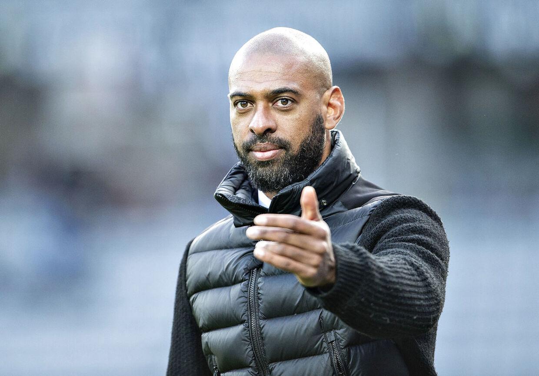 David Nielsen overtog i efteråret 2017 jobbet som cheftræner i Superliga-klubben AGF efter fyrede Glen Riddersholm. Foto: Henning Bagger