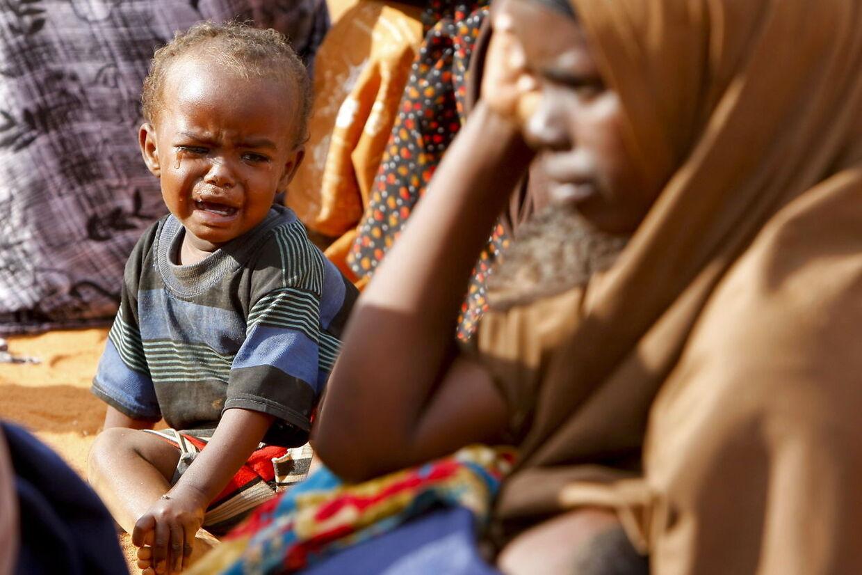 En dreng fra Somalia er flygtet fra tørken i 2011 til Kenya. Da hungersnøden var på sit højeste, modtog flygtningelejren Dadaab 1.500 flygtninge om dagen, og den blev verdens største flygtningelejr med op mod en halv million flygtninge.