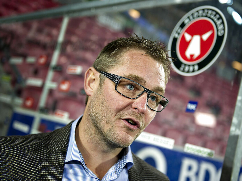 FC Midtjyllands direktør Claus Steinlein. Foto: Henning Bagger