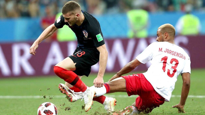 DRs kommentatorer hyldede Mathias 'Zanka' Jørgensens helt bevidste fældning af Kroatiens Ante Rebic kort før slutfløjet i den forlængede spilletid ved 1/8-finalen ved VM i fodbold. Men det skader børns evne for fair play, mener børnepsykolog John Halse.