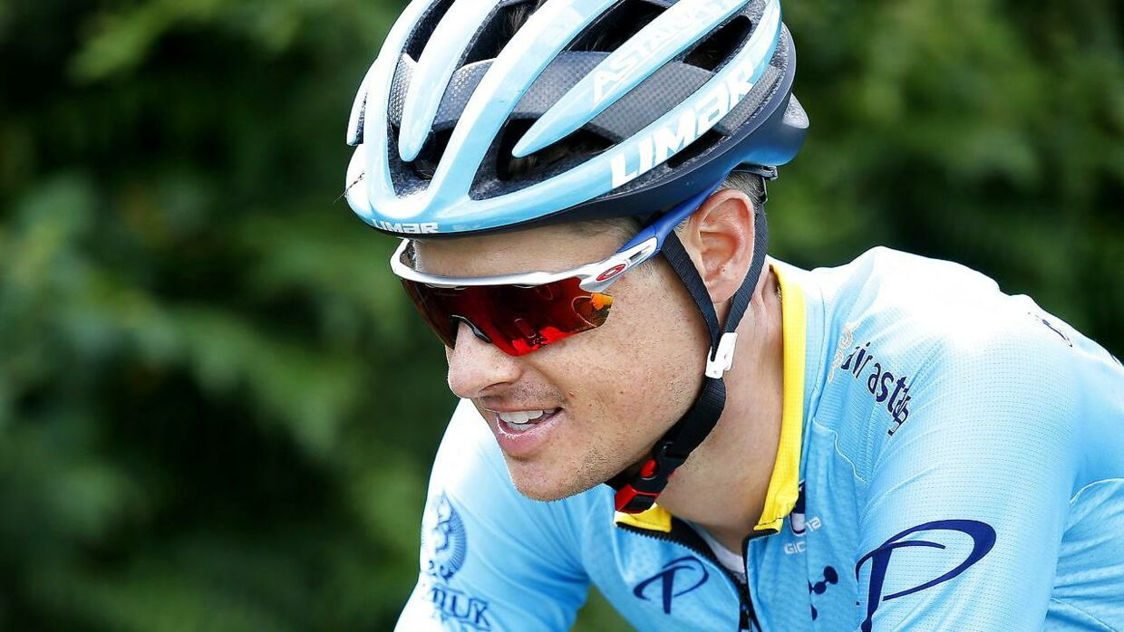 Jakob Fuglsang under årets Tour de France.