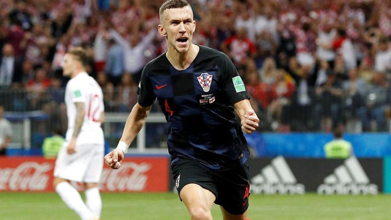 Ivan Perišić scorede til 1-1.