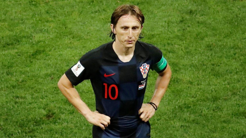 Luka Modric er klar til VM-finalen.