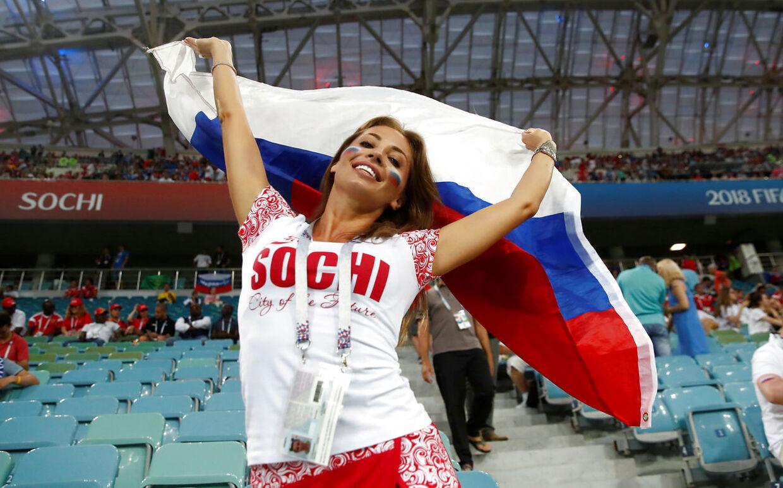 En russisk fan.