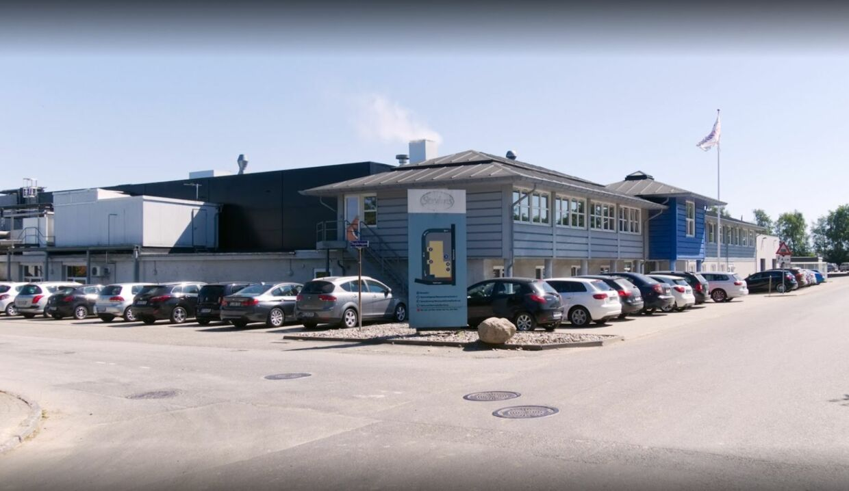 Fabrikken i Gråsten laver Graasten Salater til salg i hele Danmark. (Foto: Google)