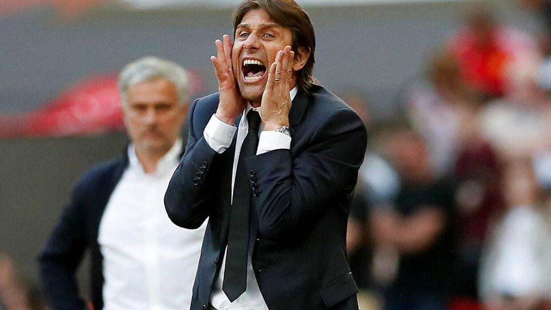 Antonio Conte er ikke længere Chelsea-træner.