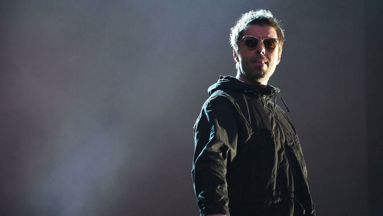 Liam Gallagher på scenen i juli.