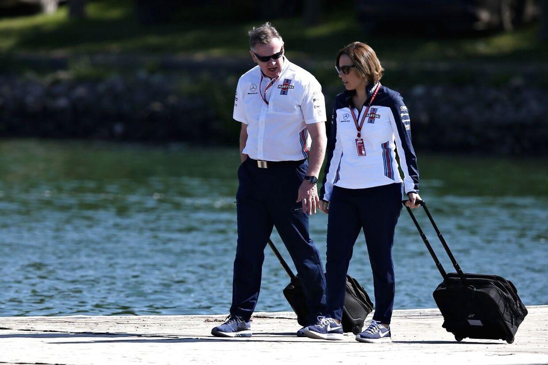 Teamchef Claire Williams har meget at bekymre sig om i øjeblikket. (Charles Coates/Getty Images/AFP)