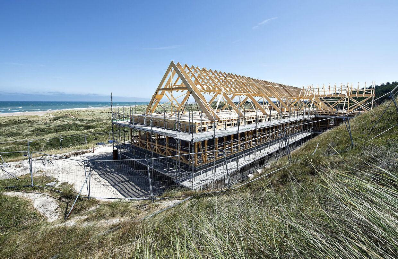 Det nye Svinkløv Badehotel åbner i foråret 2019, og bestyrelsen vil i august melde den eksakte åbningsdag ud.