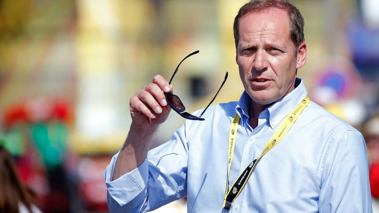 Tour-chef Christian Prudhomme.