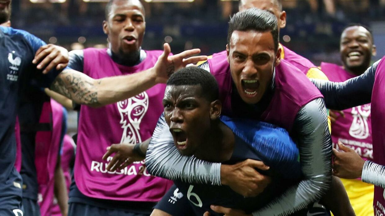 Flere franske stjerner viste verdensklassen i VM-finalen. REUTERS/Carl Recine