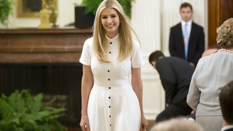 Ivanka Trump - præsident Trumps datter.