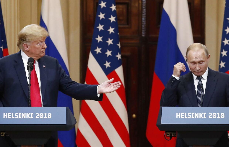 Det var Vladimir Putin, der fik mest ud af mødet med Donald Trump
