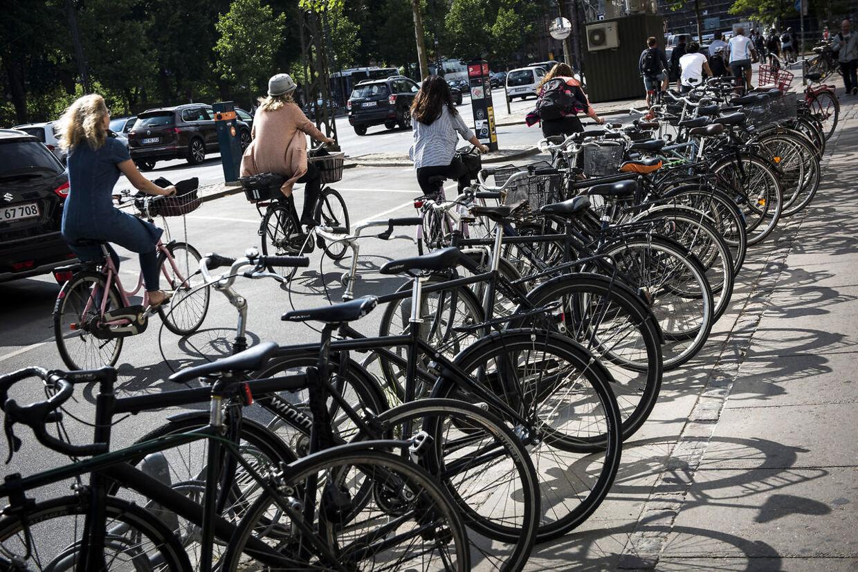 Cykler i København.