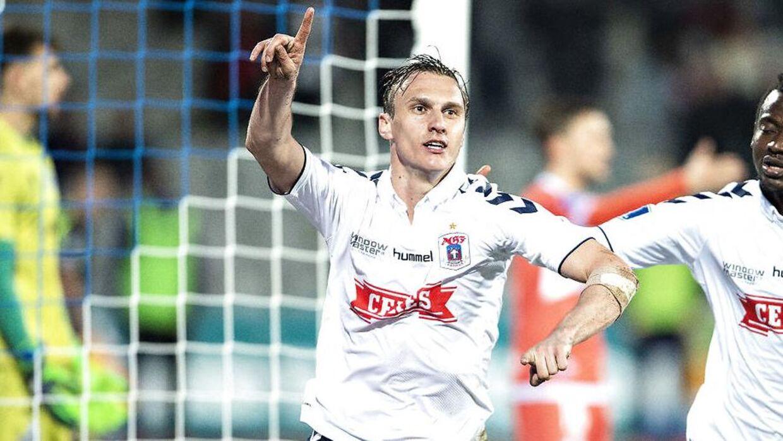 Martin Pusic spillede i AGF, inden han kom til Horsens.