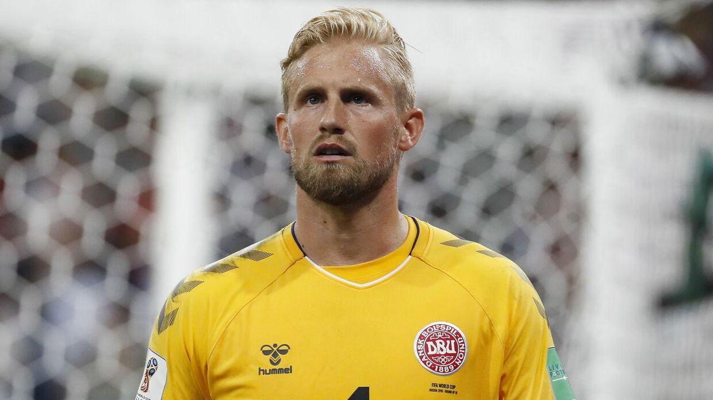 Ifølge landstræner Åge Hareide er Kasper Schmeichel blandt verdens tre bedste målmænd.