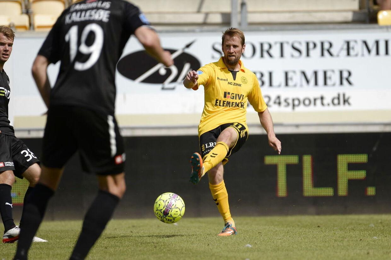 Horsens' Peter Nymann (11) i aktion. Superliga. AC Horsens mod FC Randers på Casa Arena i Horsens, søndag den 22. juli 2018. (Foto: Mads Dalegaard/Ritzau Scanpix)