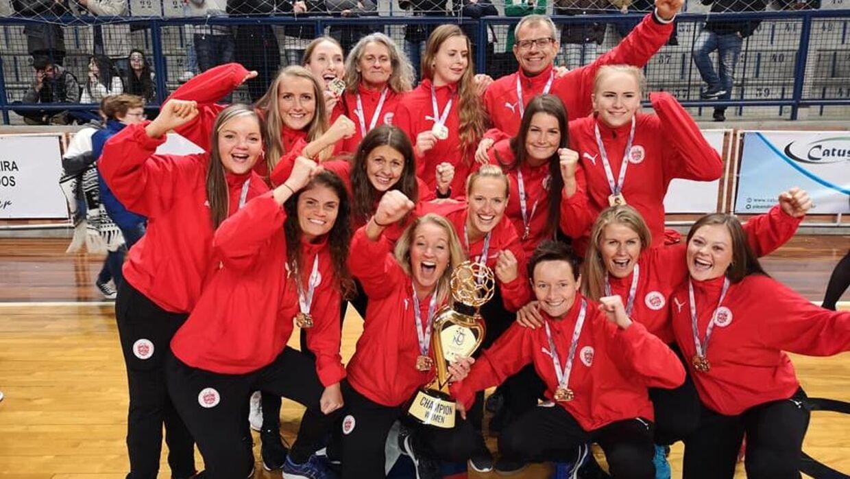 De danske håndboldkvinder vandt lørdag aften VM i håndbold for døve i Brasilien.