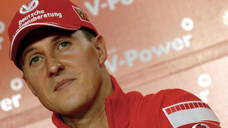 Michael Schumacher var ude for en grim ski-ulykke i 2013.