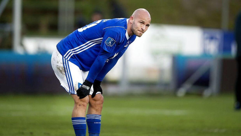 Jeppe Brandrup stoppede i Lyngby, fordi han ikke ville spille under Mark Strudal.