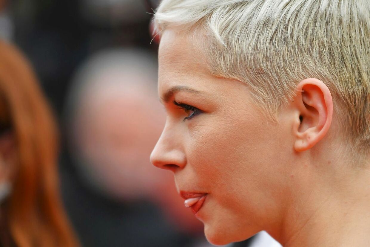 Michelle Williams. Filmfestivalen i Cannes den 18. maj 2017.