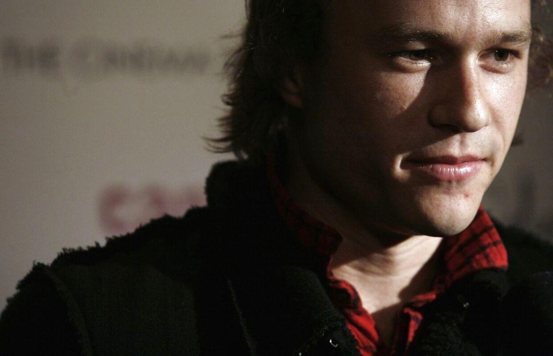 Heath Ledger - som mange husker ham. Billedet her er fra den 6. december 2006. New York.