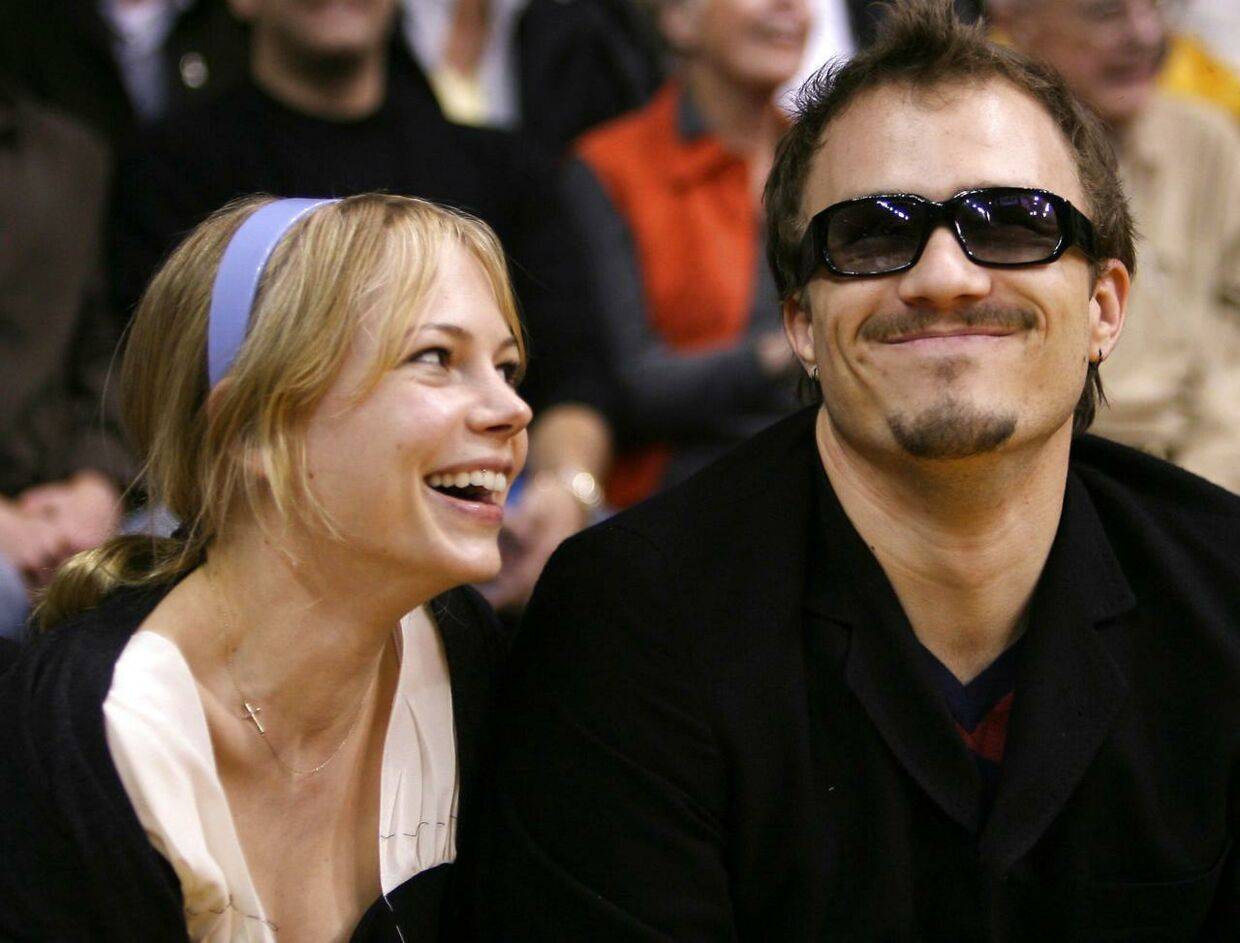 Heath Ledger og Michelle Williams. Marts 2006, Los Angeles i USA.