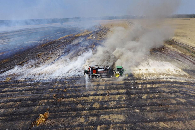 De danske beredskaber er fra 1. maj til 26. juli rykket ud til et rekordhøjt antal naturbrande - 1795 for at være præcis.