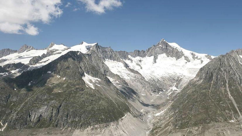 Arkivfoto. Flystyrtet skete i den schweiziske kanton Valais.