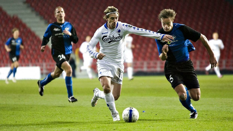 Cesar Santin nåede at score 84 mål for FC København.